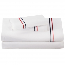 Baratto King Sheet Set, Patriot Stripes