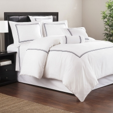 Baratto Queen Duvet Set, Admiralty Stripes