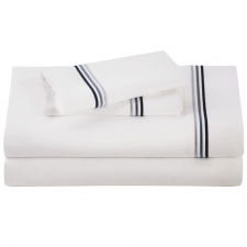 Baratto Queen Sheet Set, Admiralty Stripes