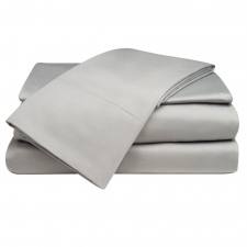 Solid Platinum Sheet Set, Queen