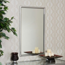 Avon Chrome Wall Mirror