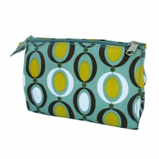 Large Cosmetic Bag, Polka Dot made by Patterned Travel Gear .