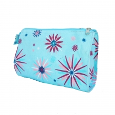 Large Cosmetic Bag, Starburst made by Patterned Travel Gear .