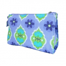 Large Cosmetic Bag, Moroccan Mod made by Patterned Travel Gear .