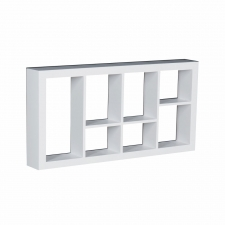 Vidalia Display Shelf, White