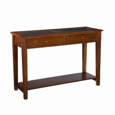La Belle Sofa Table, Walnut