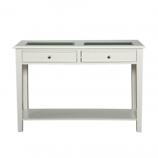 La Belle Sofa Table, White