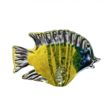 Inkberry Art Glass Tropical Fish