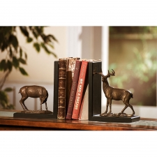 "9"" Deer Bookends"