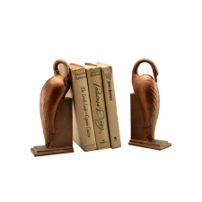 Burlingame Crane Bookends