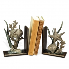 Pawtucket Shell Bookends