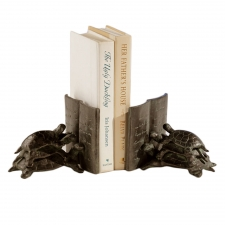 Mulberry Reading Turtle Bookends