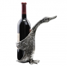 "9"" Duck Wine Bottle Holder"
