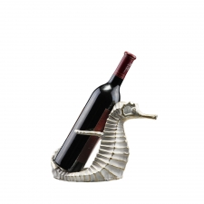 Scituate Seahorse Wine Bottle Holder