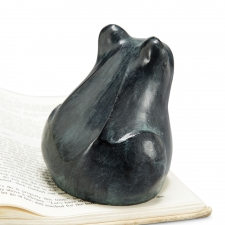 Resin Frog Paperweight