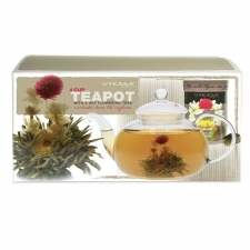 Vykasa Flowering Tea Pot Set