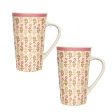 Vanilla Latte Mug Set