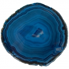 Set of 3 Brazilian Agates, Blue