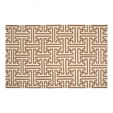 5' x 8' Trellis Rug, Golden Brown