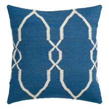 "18"" x 18"" Moroccan Pillow, Marine"