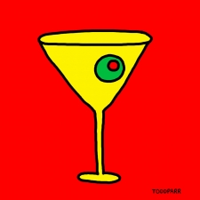 Mad Men Martini, Red