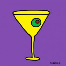 Mad Men Martini, Purple