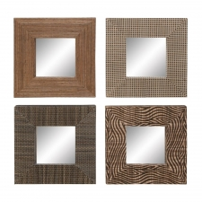 Set of 4 Square Mirrors