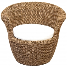 "30"" Maize Rope Chair"