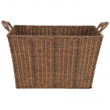 "17"" Seagrass Storage Basket"