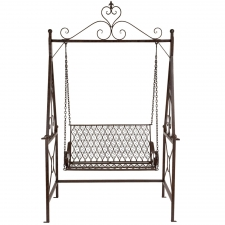 "94"" Metal Swing Chair"