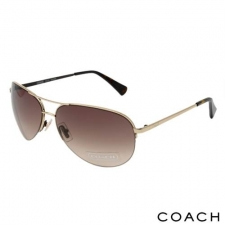 Coach Unisex Aviators, Golden