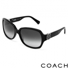 Coach Oversize Sunglasses, Black