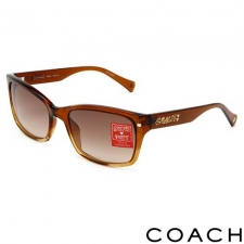 Coach Lorelei Sunglasses, Brown/Gold