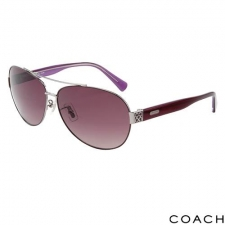 Coach Aviators, Plum