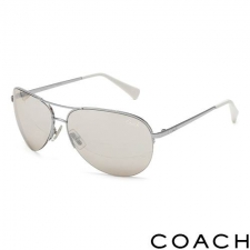 Coach Unisex Aviators, Cream made by Designer Sunglasses.