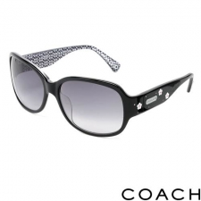 Coach Oversize Sunglasses, Black made by Designer Sunglasses.