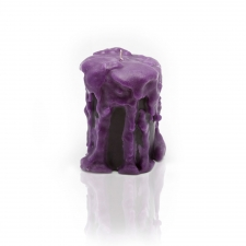 Purple Heart Candle, Small