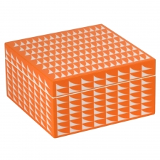 Medium Trinket Box, Orange