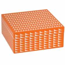 Large Trinket Box, Orange
