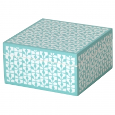 Medium Trinket Box, Blue