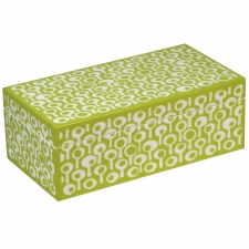 Rectangle Jewelry Box, Green