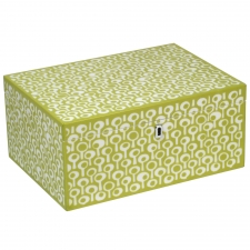 Large Rectangle Jewelry Box, Green