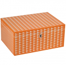 Large Rectangle Jewelry Box, Orange