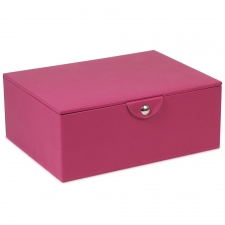 Large Stackable Jewelry Box, Fuchsia