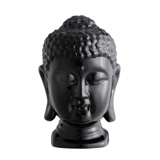 Buddha Head, Shiny Black made by Avant-Garde Accessories .