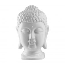 Buddha Head, Shiny White