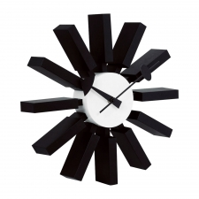 Smith Wall Clock, Black