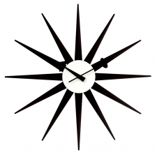 Harlan Wall Clock, Black