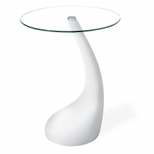Ahern Bistro Table, White