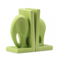 Safari Bookend, Green